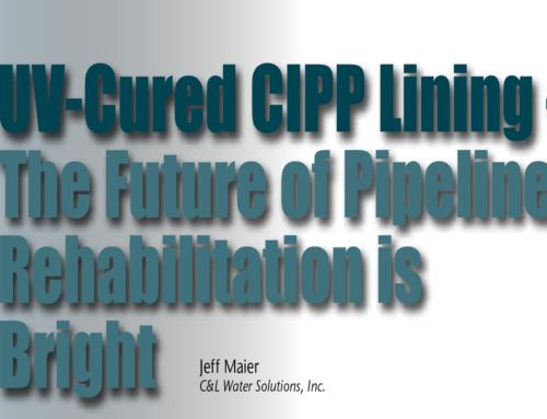 UV-Cured CIPP Lining